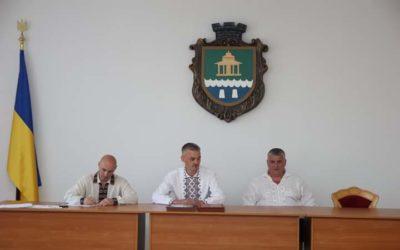 Урочисте засідання сесії Моршинської міської ради