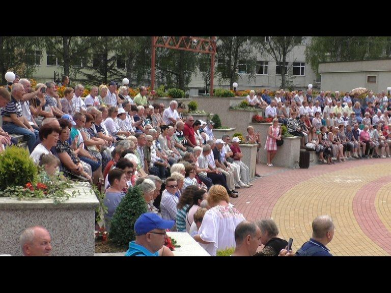 """Концерт за участю творчих колективів Палацу культури ДП СКК """"Моршинкурорт"""""""
