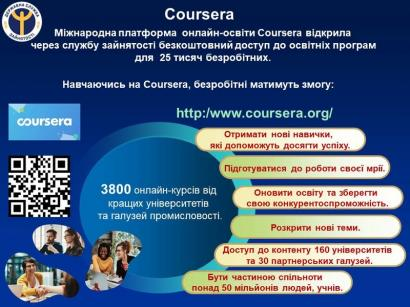 Coursera – безкоштовне онлай-навчання
